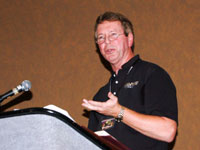Mike O'Neal presenting